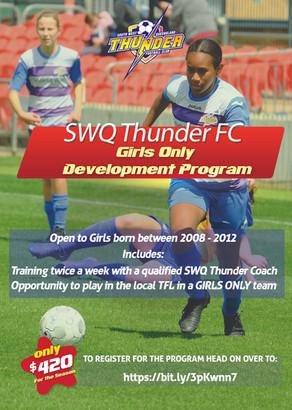 Girls Only Development Program