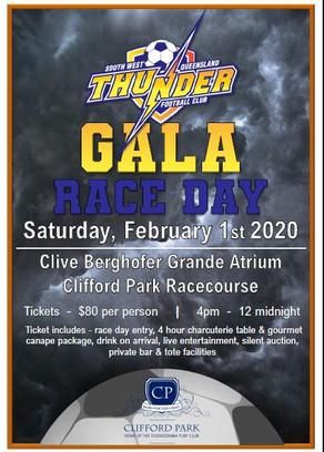 SWQ Thunder Gala Race Day