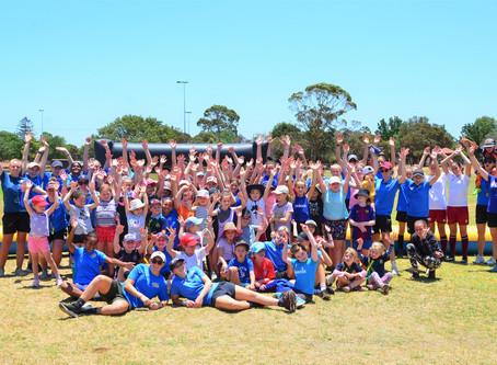 Girls Football Camp a hit!!!!!