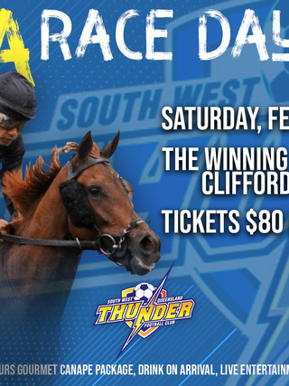 Thunder Gala Race Day