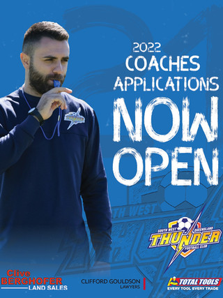 Apply to be a Coach for the 2022 Season