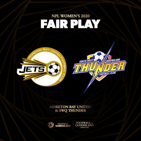 Well done to the Thunder Women!!!!!!!