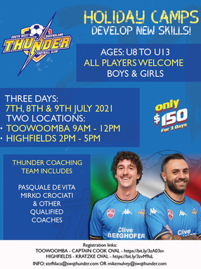 June Holiday Camps