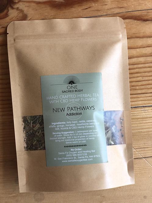 Handcrafted Herbal CBD Tea