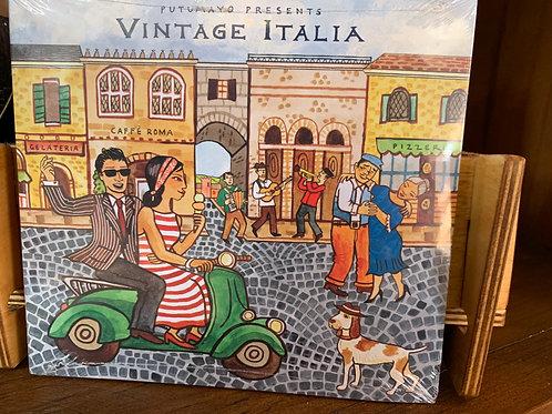 Vintage Italia Music CD