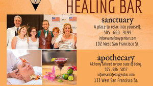 Best of Santa Fe #1 in Best Alternative Healing, #3 Best Spa, & Women Owned Business of the Year