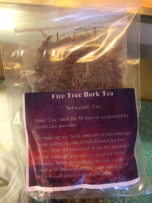 Fire Tree Bark Tea