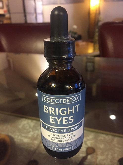 Bright Eyes Fulvic Eye Drops