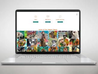 Sitio web y marca de la tienda de mascotas