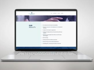 Logotipo y sitio web de Supply Chain Company