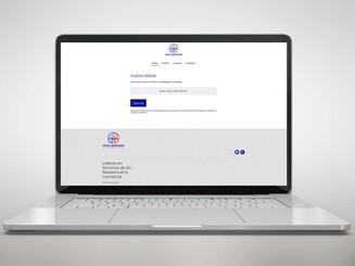 Empresa de servicios HVAC: diseño de logotipos, redes sociales y sitio web