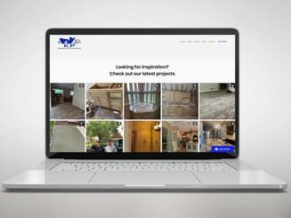 Sitio web de la empresa constructora