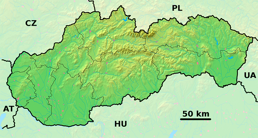 Slovakia_-_physical_map.png