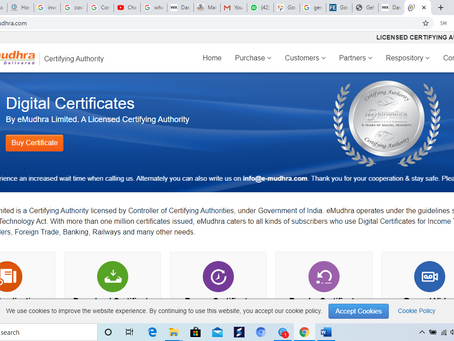 All about Digital signature certificate   How to apply for DSC?
