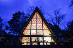 Autom A-frame house