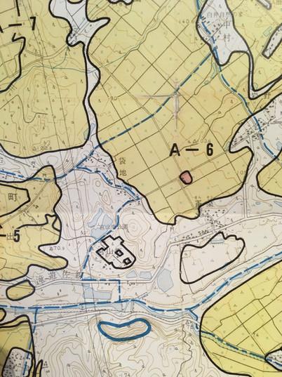 農業振興エリア地図