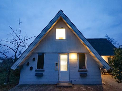 Denmark A-frame house