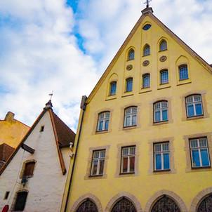 中世の街並みが残るエストニアの首都タリン