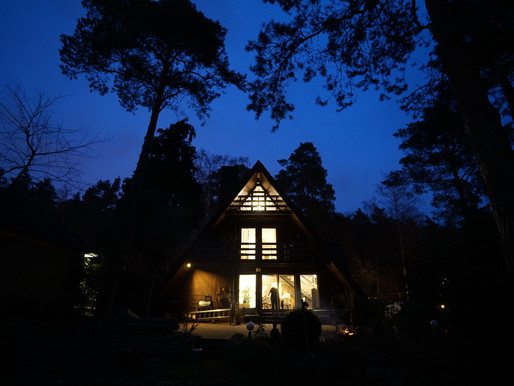 Germany A-frame house