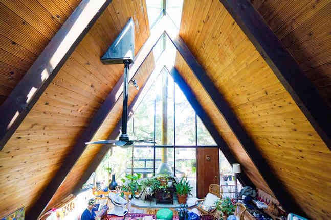 Skyline A-frame house Portland, OR, USA / Built in 1961