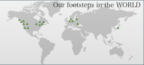 Our footsteps in the World