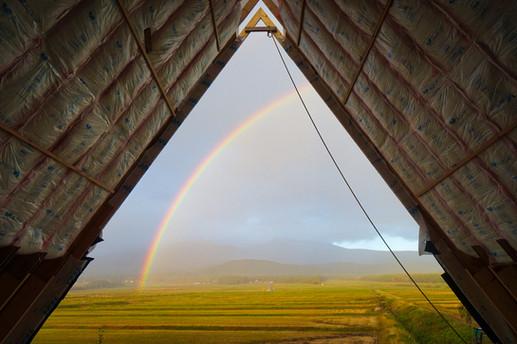 虹のご褒美