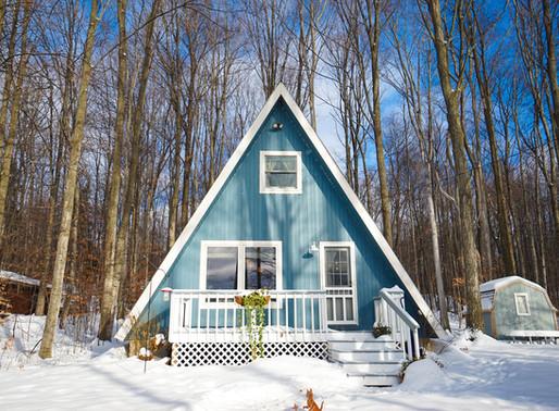 Snow-cat A-framehouse