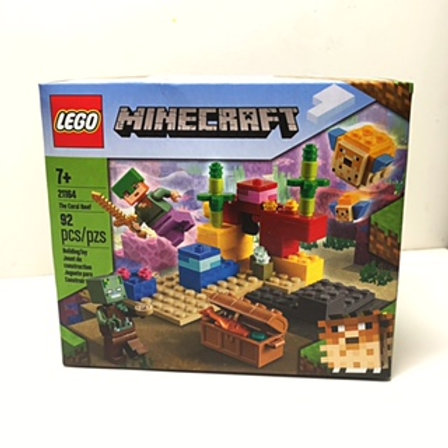 """Lego - Minecraft """"The Coral Reef"""""""