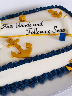 Navy Bunco Cake