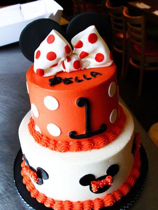 Minnie Cake Tiered