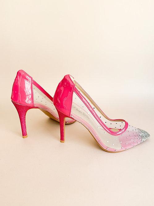 Scarpin Diamond Pink