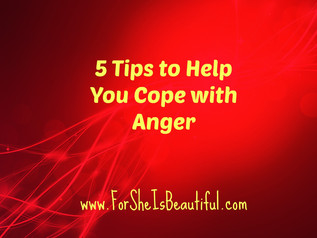 5 Tips to Help You Manage Your Anger