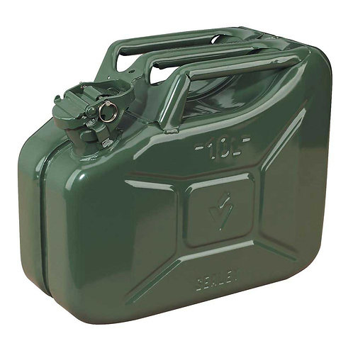 10 Litre Jerry can - Metal