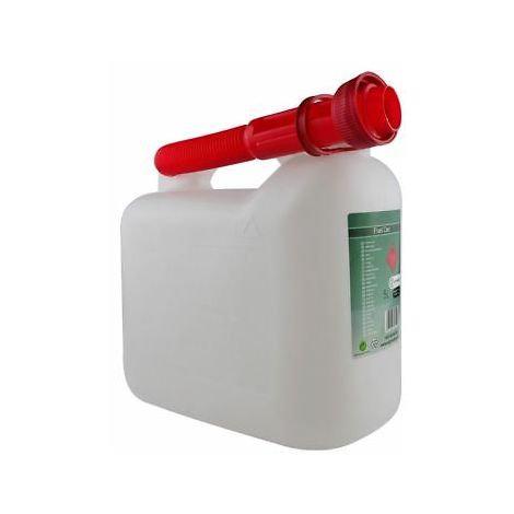 Petrol Jerry Can 5 Litres Plastic