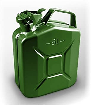 5 Litres Jerry can - Metal