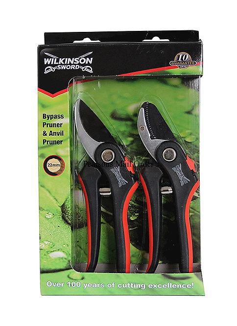 Wilkinson Deluxe Pruner Twin Pack