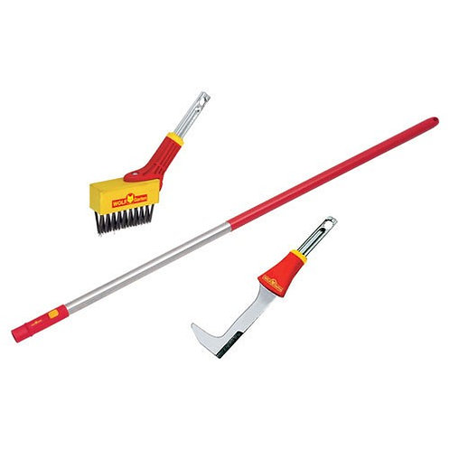 Wolf Garten Weeding Brush and Scraper Set