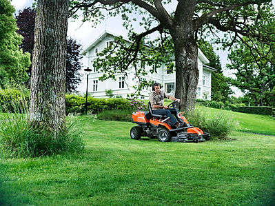 Husqvarna rider lawnmower