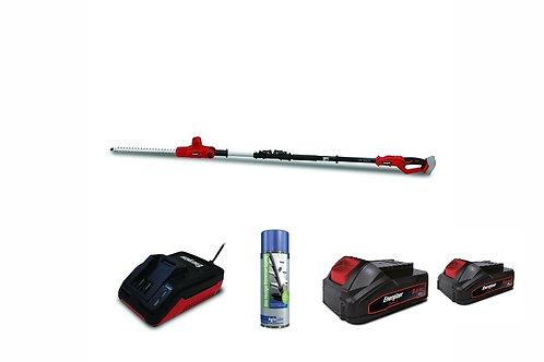 Energizer Battery Long Reach Hedge Trimmer Bundle