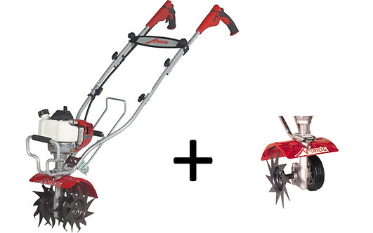 Mantis Deluxe 4 Stroke Tiller with Edger Attachment Package