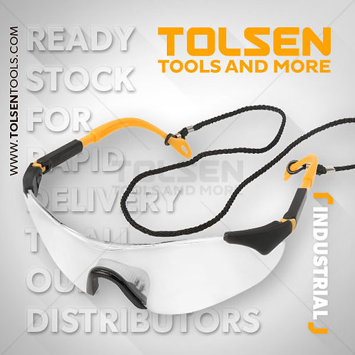 Tolsen Clear Protective Safety Glasses