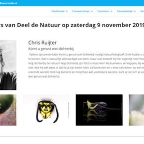 Lezing op Nature Talks voor DeelDeNatuur
