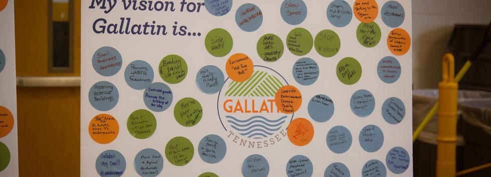Gallatin Vision Board