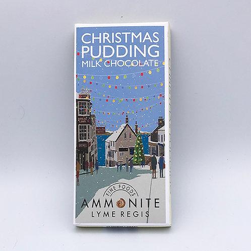 Christmas Pudding Milk Chocolate Bar