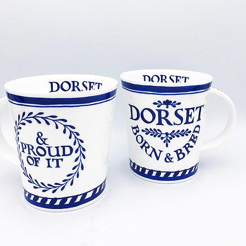 Dorset Born & Bred Mug