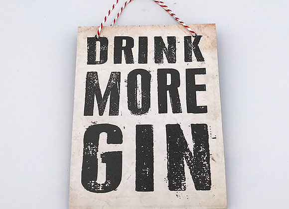 Drink More Gin