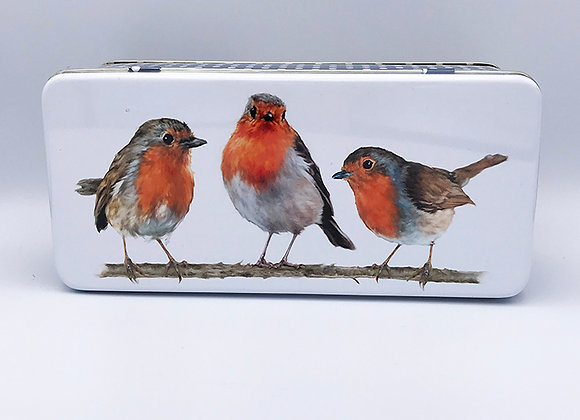 Moores Robin Biscuit Selection Tin