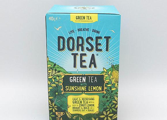 Green Tea with Sunshine Lemon
