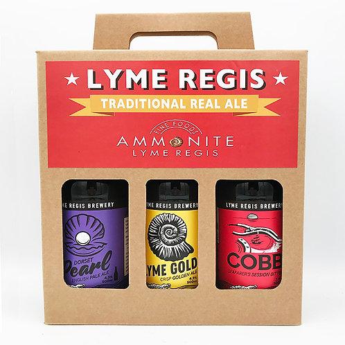 Lyme Regis Brewery Selection Box
