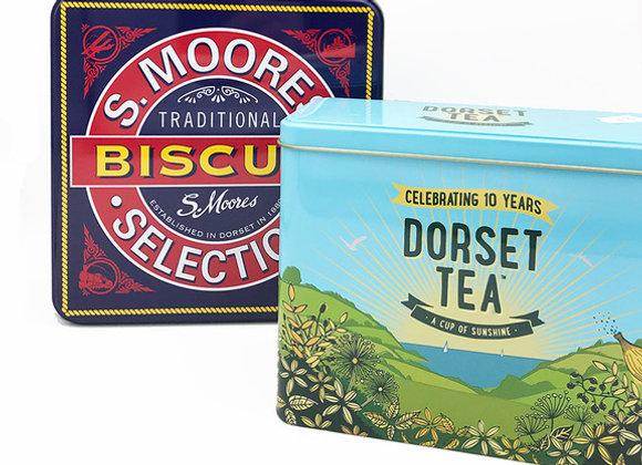 Tea & Biscuit Tin Hamper